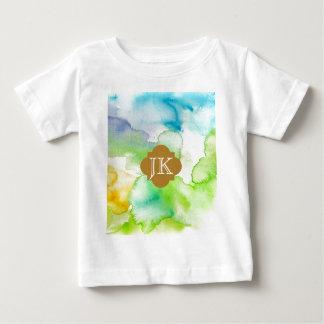 T-shirt Pour Bébé 1 jaune bleu