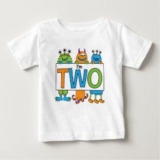 T-shirt Pour Bébé 2ème Pièce en t de monstre d'anniversaire