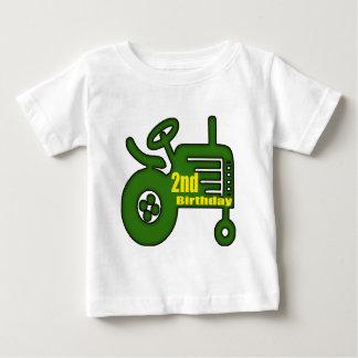 T-shirt Pour Bébé 2èmes cadeaux d'anniversaire de tracteur