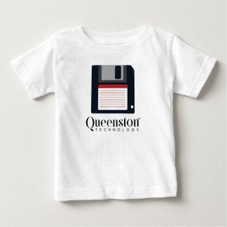 T-shirt Pour Bébé À disque souple vintage drôle