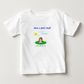 T-shirt Pour Bébé « À great day ! «