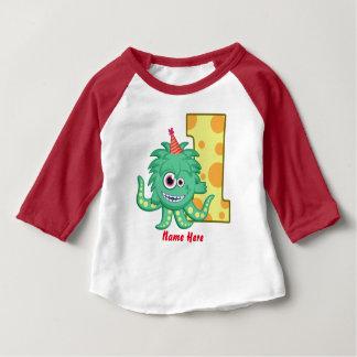 T-shirt Pour Bébé Ă?re coutume d'anniversaire de monstre
