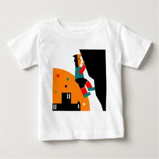 T-shirt Pour Bébé Abrégé sur escalade de roche