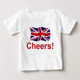 T-shirt Pour Bébé Acclamations britanniques !