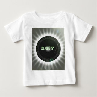 T-shirt Pour Bébé Affiche 2017 fraîche de souvenir d'éclipse solaire