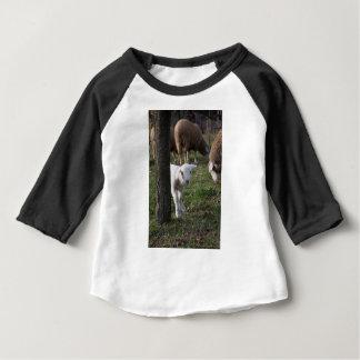 T-shirt Pour Bébé Agneau timide