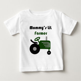 T-shirt Pour Bébé Agriculteur de Lil de la maman