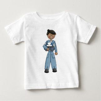 T-shirt Pour Bébé air_force_girl