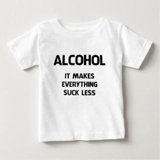 T-SHIRT POUR BÉBÉ ALCOOL