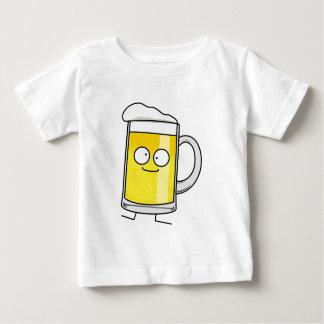 T-shirt Pour Bébé Alcool heureux bu par mousse heureuse de stein de