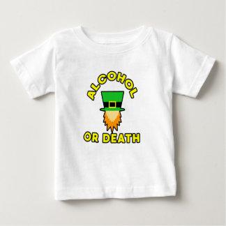 T-shirt Pour Bébé Alcool ou mort