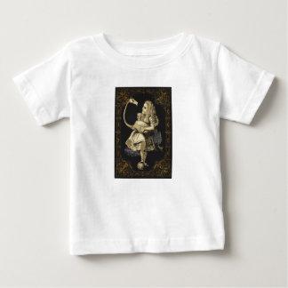 T-shirt Pour Bébé Alice dans la chemise Alice du pays des merveilles