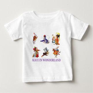 T-shirt Pour Bébé Alice et amis au pays des merveilles