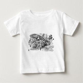 T-shirt Pour Bébé Alice et la reine