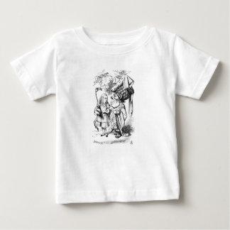 T-shirt Pour Bébé Alice et la reine rouge