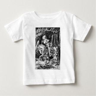 T-shirt Pour Bébé Alice et le chevalier blanc