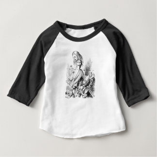 T-shirt Pour Bébé Alice et une boîte d'animaux