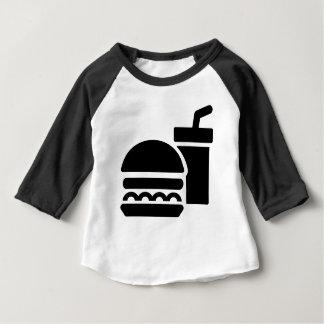T-shirt Pour Bébé Aliments de préparation rapide