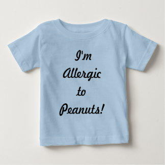 T-shirt Pour Bébé Allergies