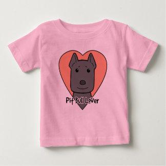T-shirt Pour Bébé Amant de Pitbull