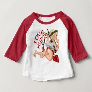 T-shirt Pour Bébé Américain 2 de bébé de GARÇON de VALENTINE
