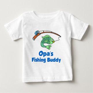 T-shirt Pour Bébé Ami de la pêche d'Opa