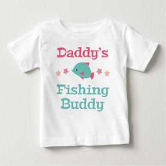 T-shirt Pour Bébé Ami de la pêche du papa