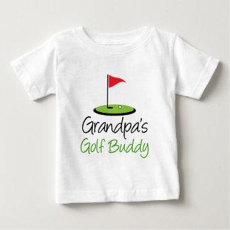T-shirt Pour Bébé Ami du golf du grand-papa