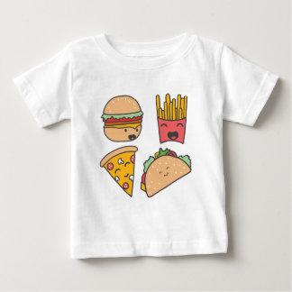 T-shirt Pour Bébé amis d'aliments de préparation rapide