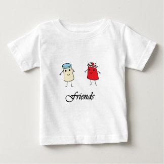 T-shirt Pour Bébé Amis de beurre et de gelée d'arachide
