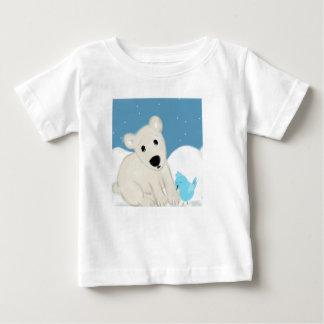 T-shirt Pour Bébé Amis polaires