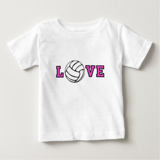 T-shirt Pour Bébé Amour de volleyball