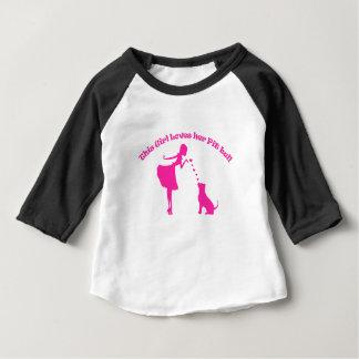T-shirt Pour Bébé amour pitty