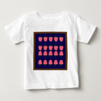 T-shirt Pour Bébé AMUSEMENT frais doux de goût de framboise d'art de
