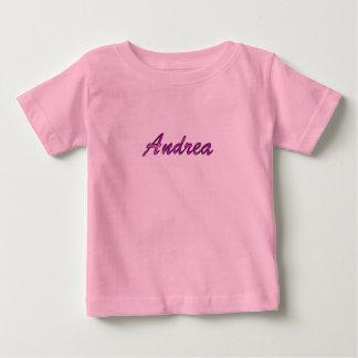 T-shirt Pour Bébé Andrea