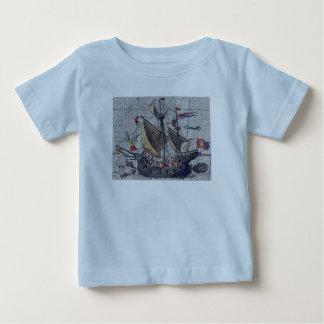 T-shirt Pour Bébé Ange du bateau de navigation de hautes mers