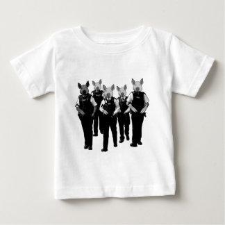 T-shirt Pour Bébé Anti police britannique