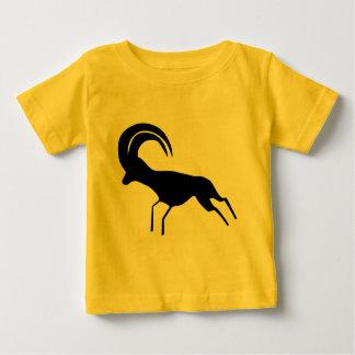 T-shirt Pour Bébé Antilope saharienne d'art de roche