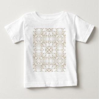 T-shirt Pour Bébé Antiqubeige floral