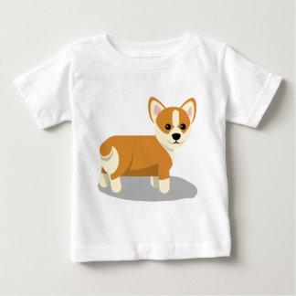 T-shirt Pour Bébé Aparrel de corgi