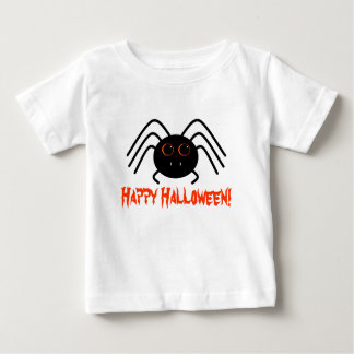 T-shirt Pour Bébé Araignée heureuse de Halloween