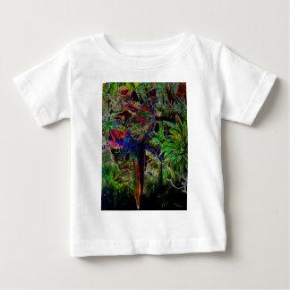 T-shirt Pour Bébé Aras dans le paradis tropical la nuit