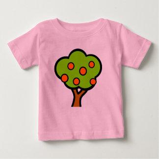T-shirt Pour Bébé arbre avec des fruits