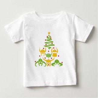 T-shirt Pour Bébé Arbre de Noël de Viking le Valhöll