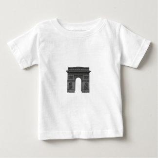 T-shirt Pour Bébé Arc de Triomphe : modèle 3D :