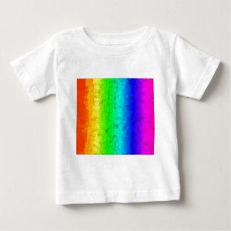 T-shirt Pour Bébé Arc-en-ciel coloré d'écran