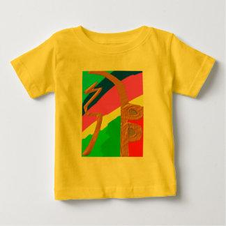 T-shirt Pour Bébé Arc-en-ciel   d'or de Sayhayki - symbole curatif