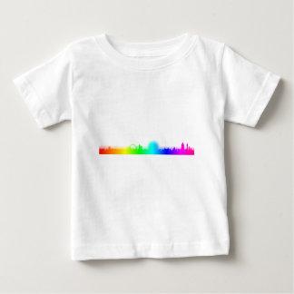 T-shirt Pour Bébé Arc-en-ciel Ville-Londres