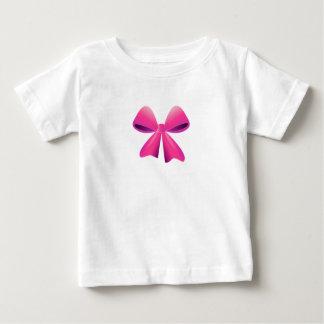 T-shirt Pour Bébé Arc rose et conception noire d'arc