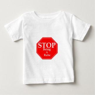 T-shirt Pour Bébé Arrêtez Rubeness